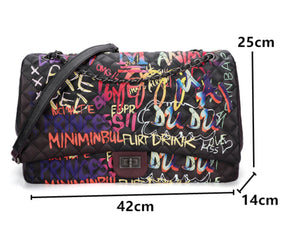 """GRAFFITI LARGE"" Handbag"