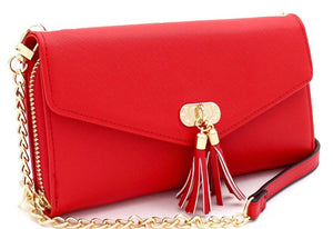 """TASSELS"" Crossbody Handbag"