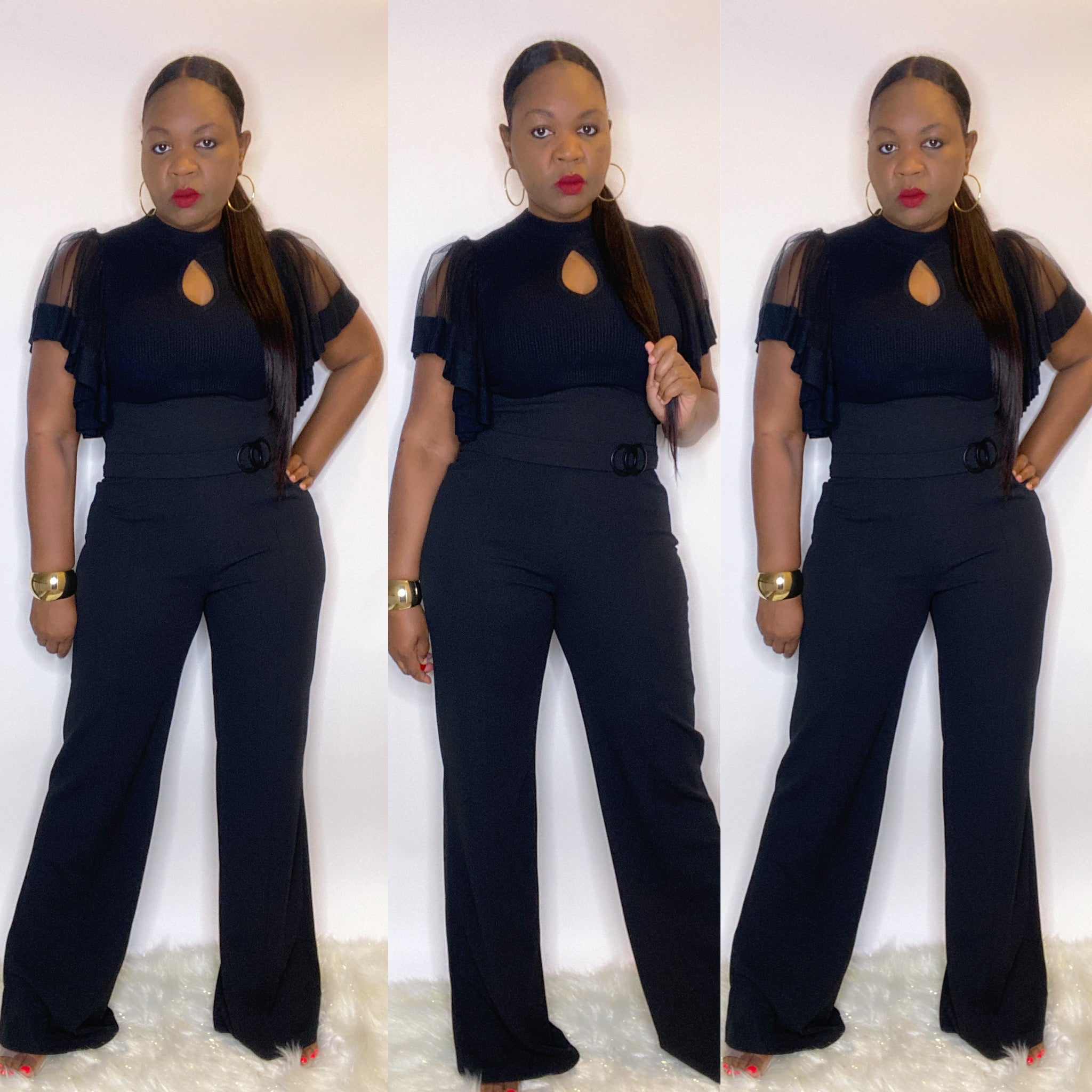 """CHIC EXTREME"" High Waist Pants"