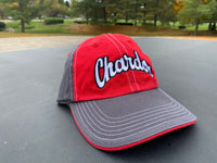 Chardon Hilltoppers Embroidered Red/Charcoal Cap