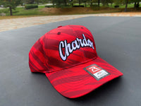 Chardon Hilltoppers Red/Black Streak Cap
