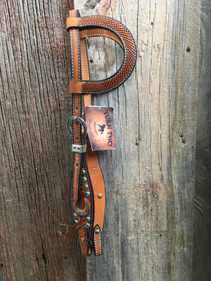 Turn Two Stampede Double Ear Headstall*