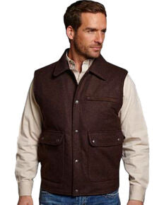 Cripple Creek Men's Wool Melton Vest