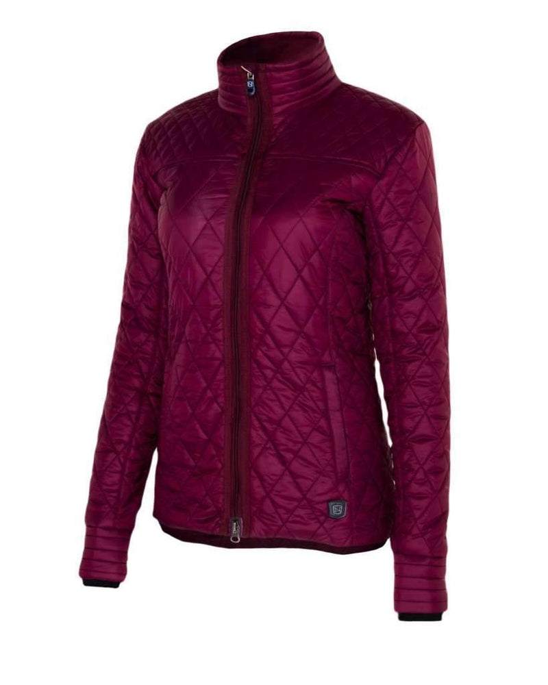 Ladies Warm Up Quilted Jacket