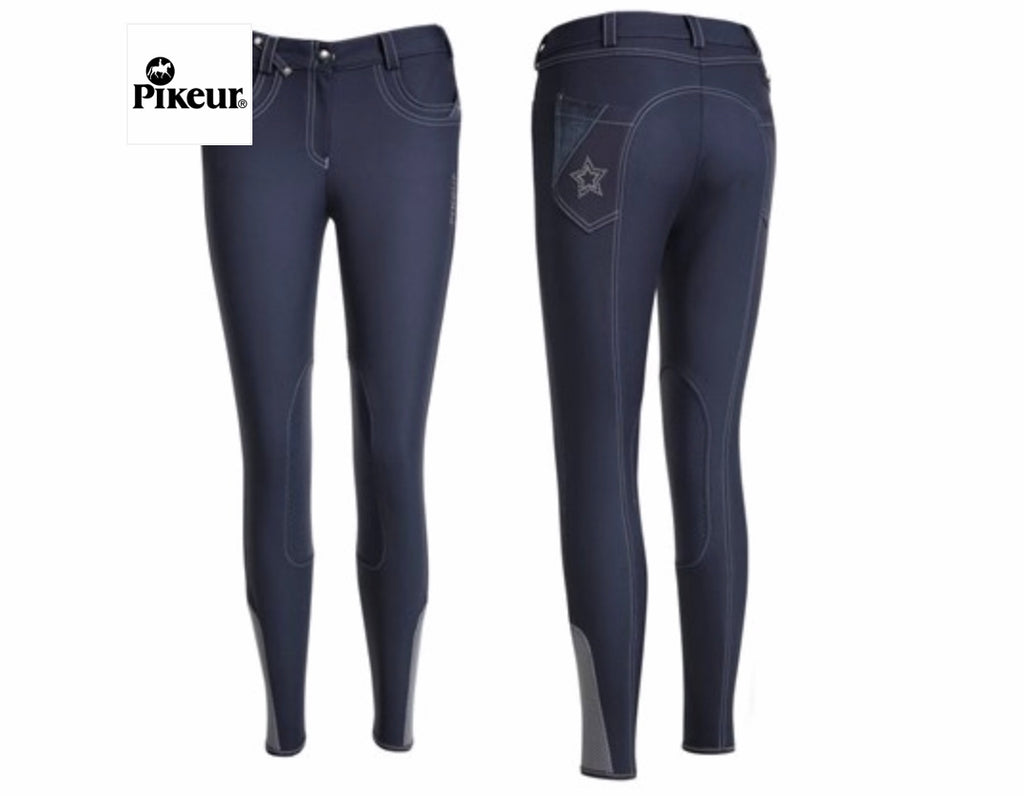 Pikeur Furia Grip Knee Patch Breech