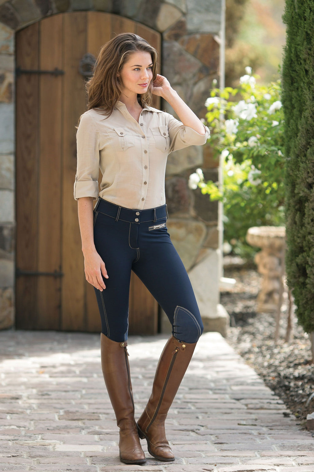 Goode Rider Iconic Breeches Ladies Knee Patch*