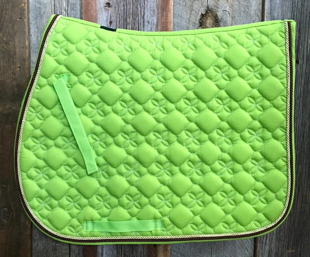 Toklat Tango Flower Diamond AP Saddle Pad*