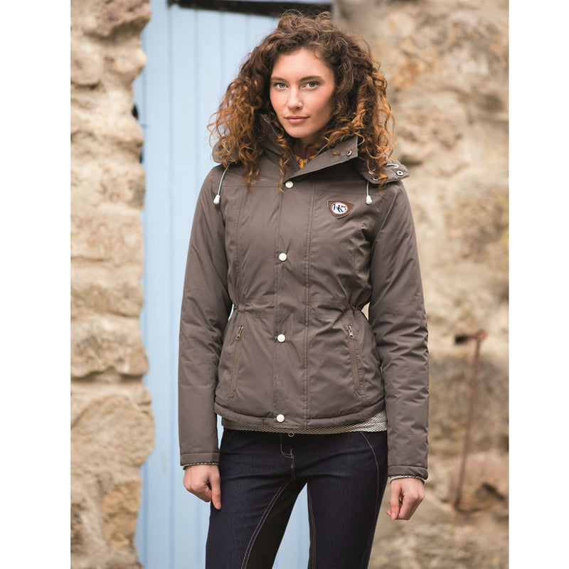 Brianna Riding Jacket Earth Brown