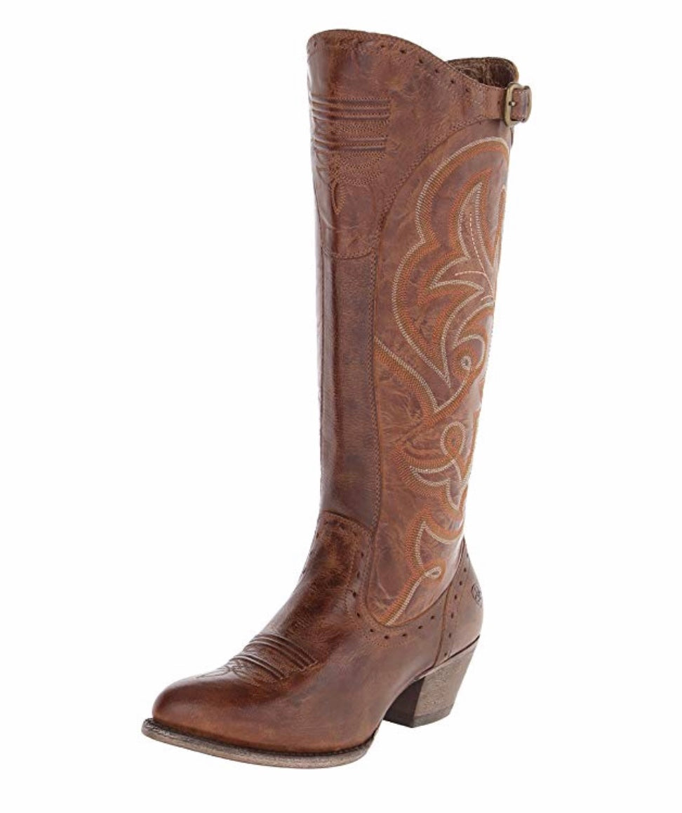 Ariat Ladies Wanderlust Sandstorm Brown Tall Boot