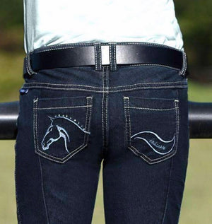 Irideon Denim Breech Bit & Rein Knee Patch*