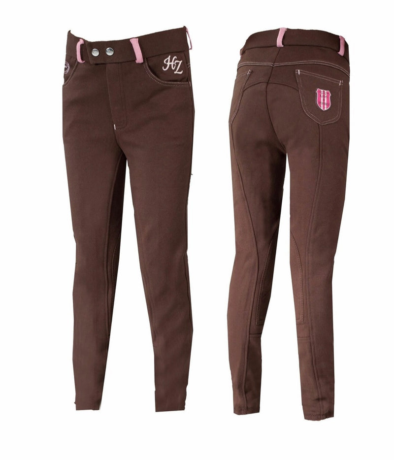 Horze Jen Jr Narrow Knee Patch Breech
