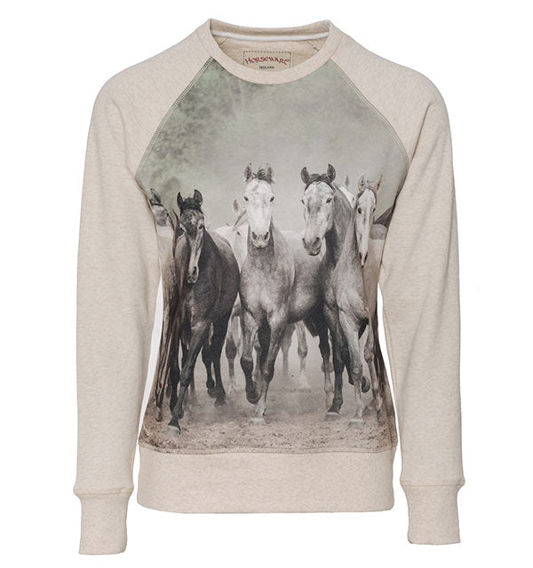 Horseware Ladies Horse Printed Sweatshirt
