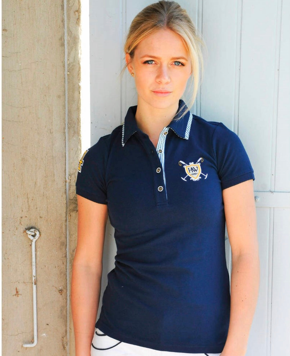 Horseware Luna Cotton Mesh Pique Polo*