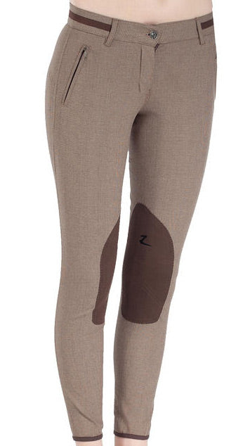 Horze Nicola Leather Knee Patch Breech
