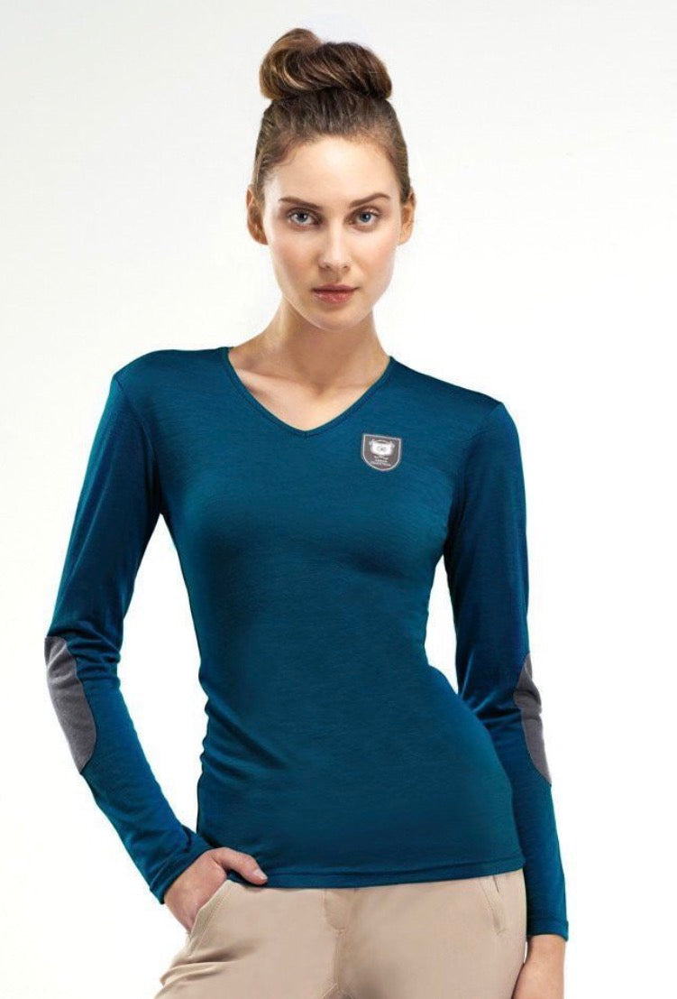 Asmar Merino Wool V-Neck Sweater *