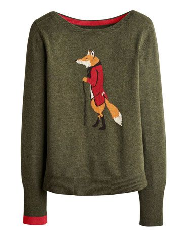 Joules Intarsia Knit Long Sleeve Jumper*