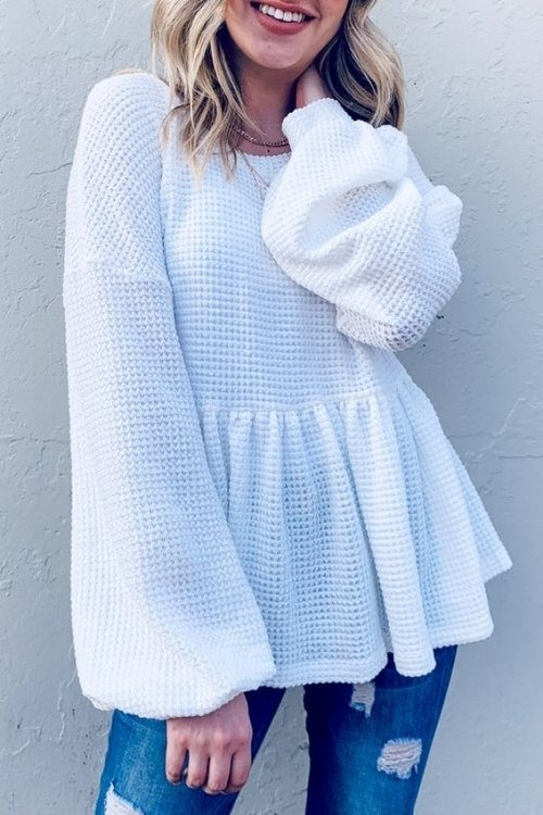 ANDTHEWHY Knit Top*
