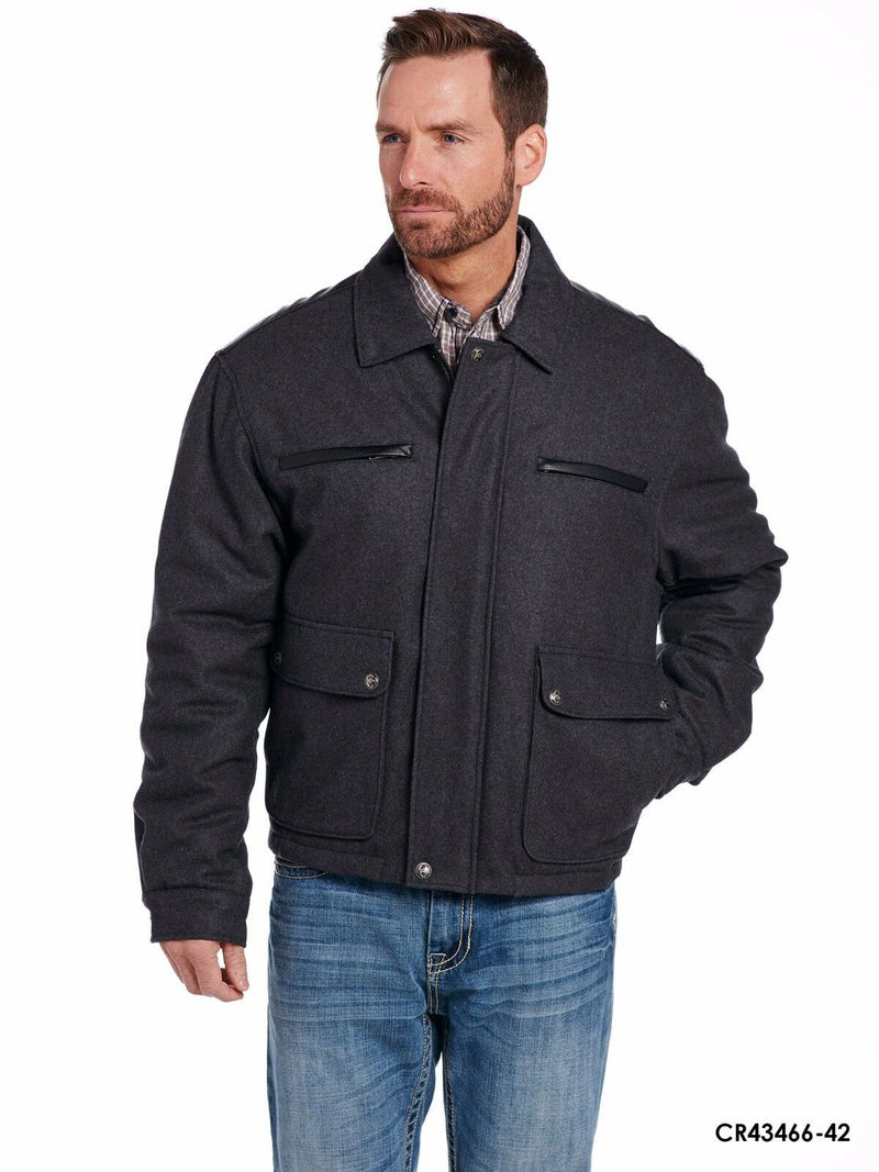 Cripple Creek Men's Melton Jacket*