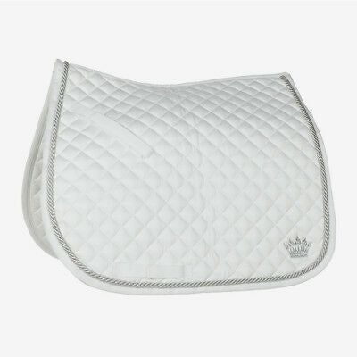 Horze Silver Cord Edge Pony Saddle Pad *