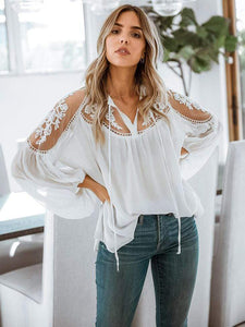 Formal Lace Blouses
