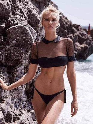 Sunscreen mesh Bella Bikini Sets