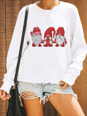 Hanging With Gnomes Christmas Sweatshirt