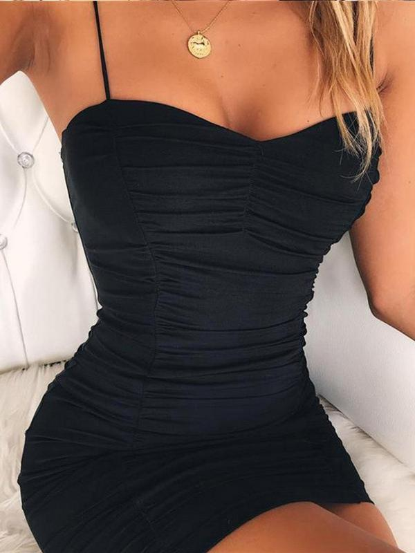 sexy drape slip dress