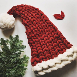 Hand Knitted Christmas Hat