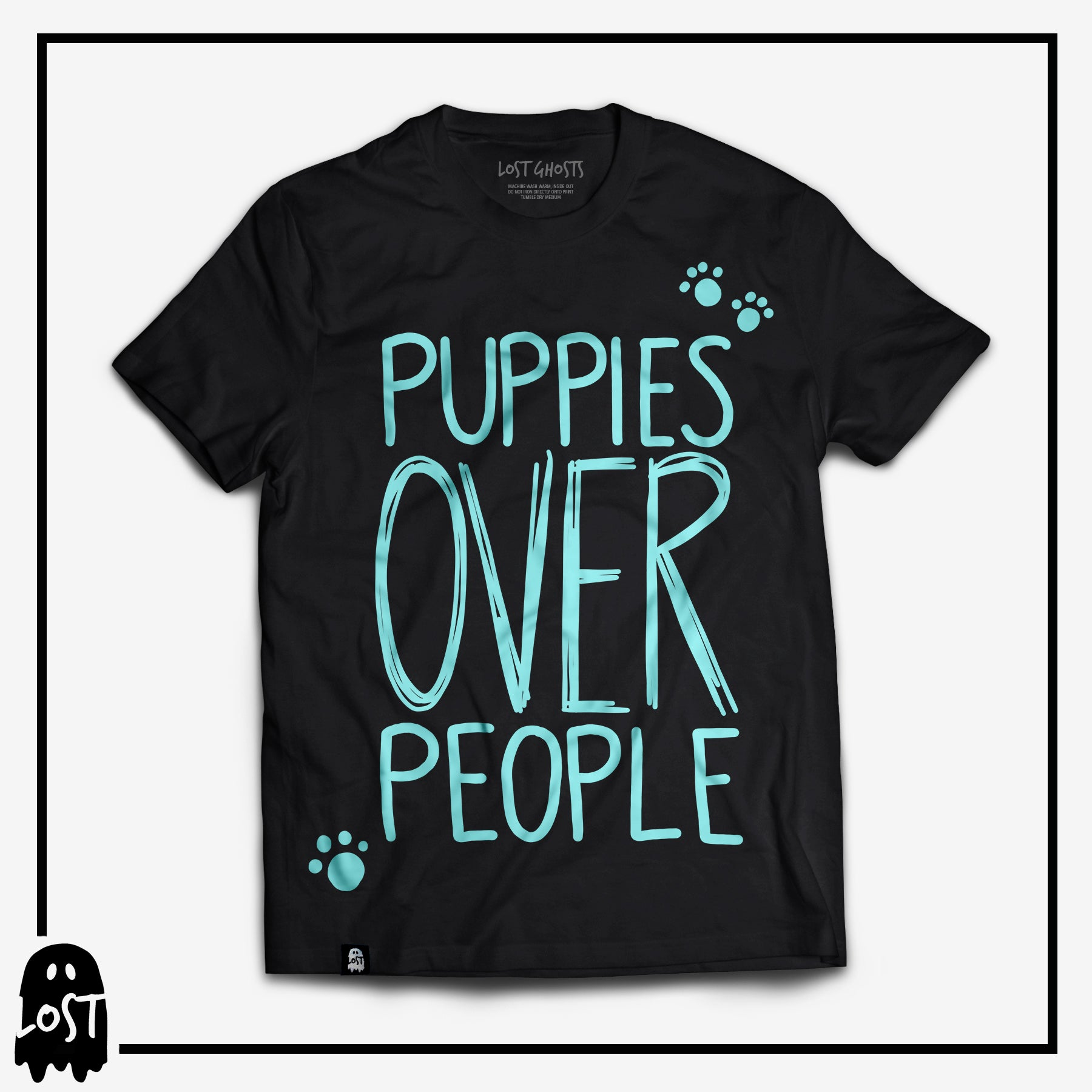 Puppies Over People