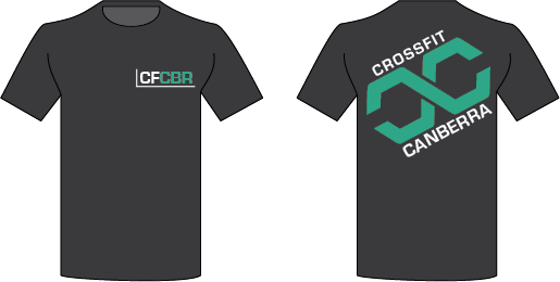 Mens 2019 CrossFit Canberra T-shirt