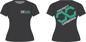 Womens 2019 CrossFit Canberra T-shirt