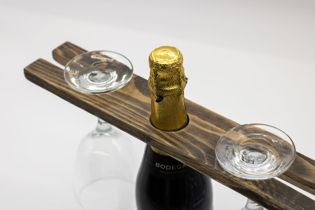 Reclaimed Wood Wine Holder