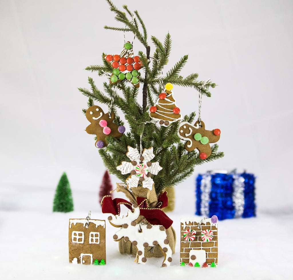 Holiday Lane Gingerbread Ornament Kit