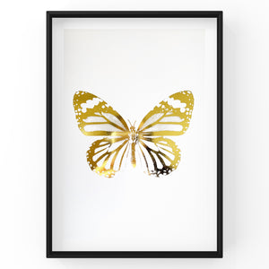 Butterflies, Bees & Dragonfly - Foil Prints