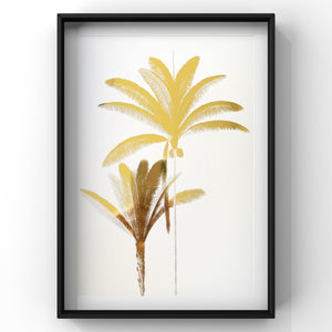 Exotic Palms & East India - Foil Prints