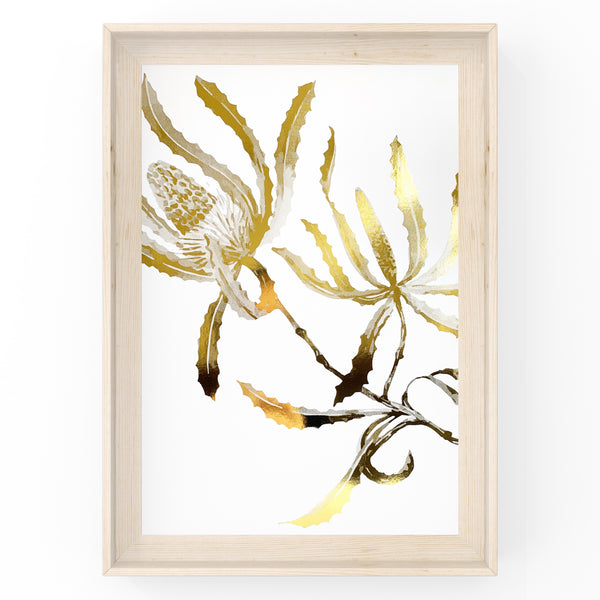 Banksia Wall Art Foil Prints
