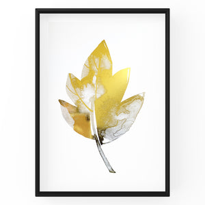 Autumn Leaf - Foil Print