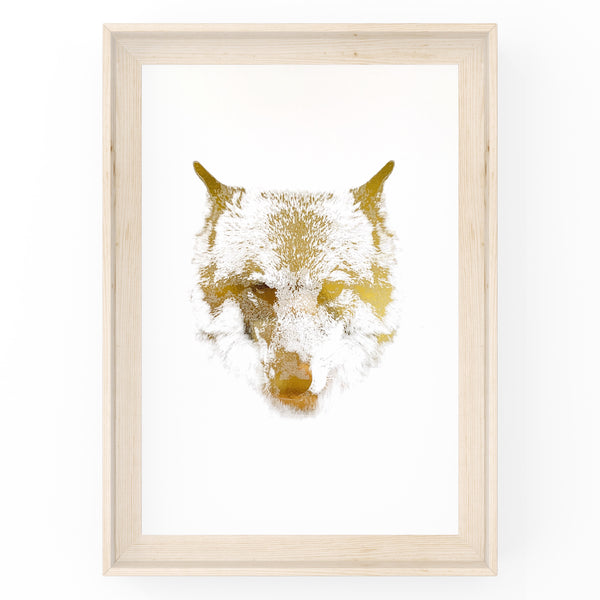 Wolf Wall Art Foil Prints