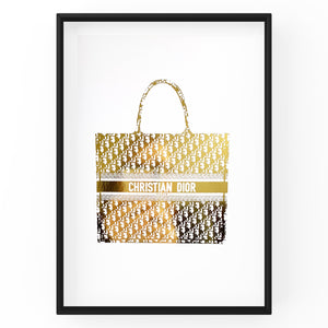 Christian Dior Handbag - Foil Prints