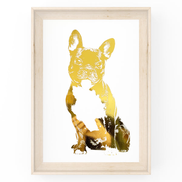 French Bulldog - Dog - Foil Print