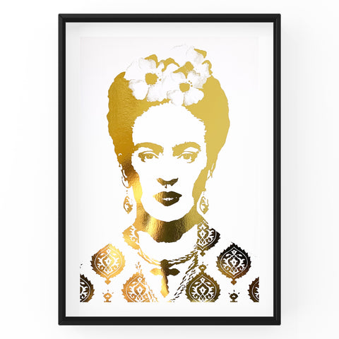 Frida Kahlo - Wall Art Foil Prints