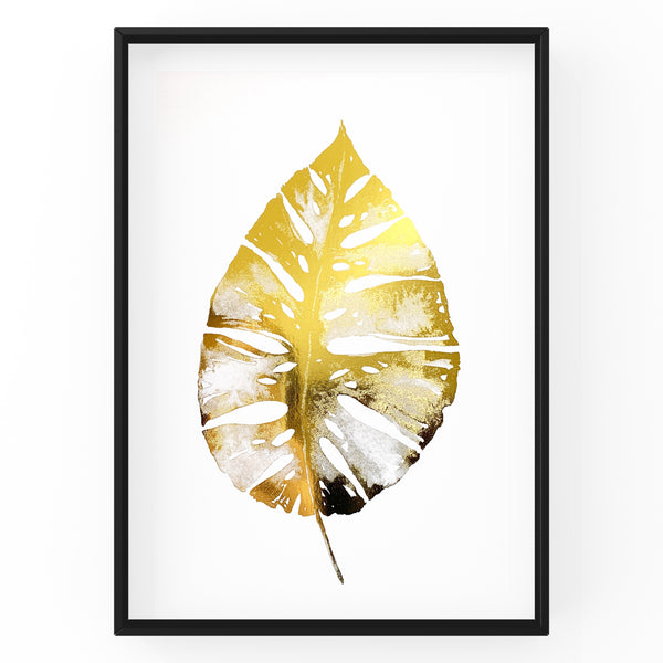 Winter Leaf - Foil Print