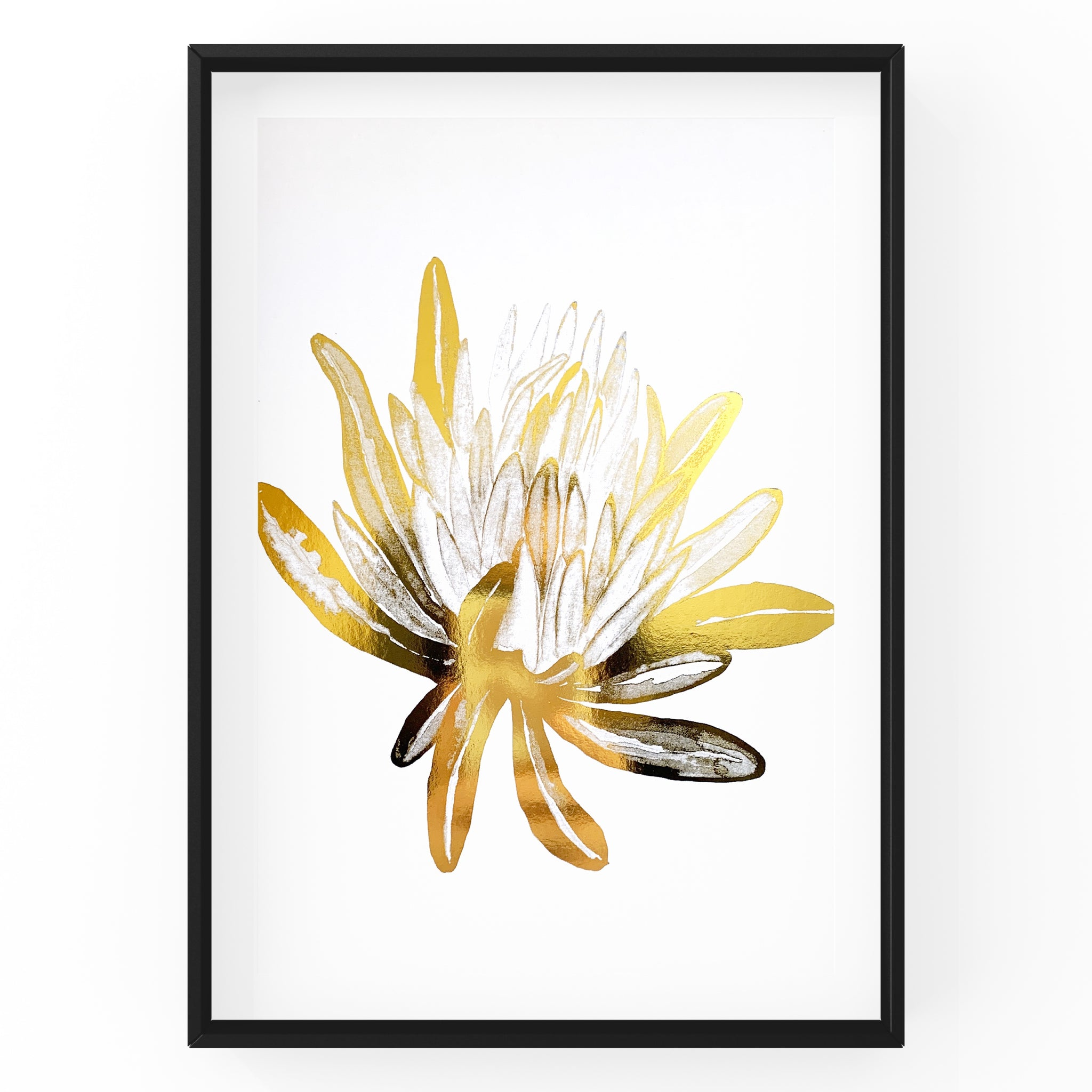 Protea Wall Art Foil Prints