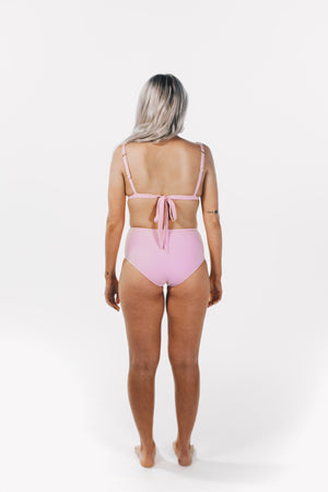 Triangle Top Baby Pink