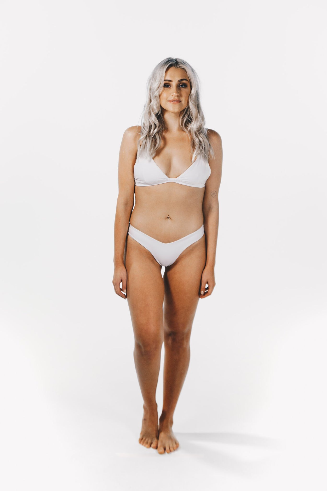 Crystalline Bottoms White