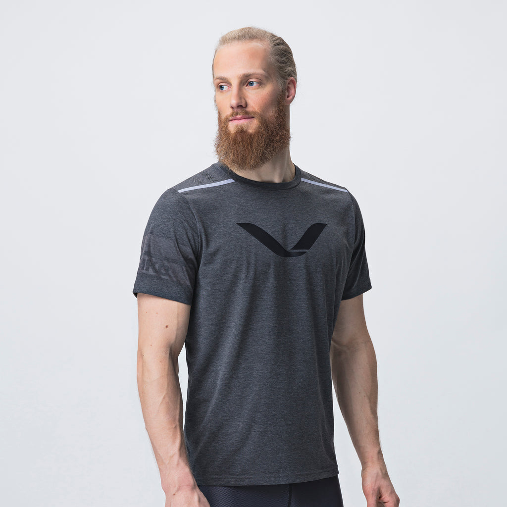 Grip T-Shirt <br>Jet Black