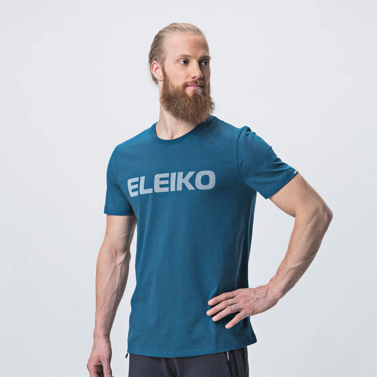 Energy T-Shirt, Men <br>Strong Blue