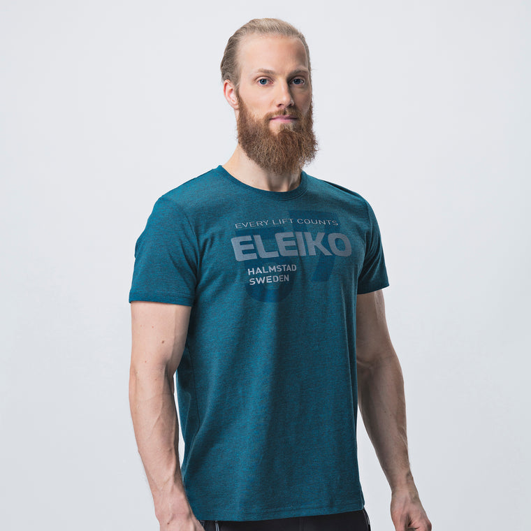 Eleiko Sign T-Shirt A <br>Strong Blue