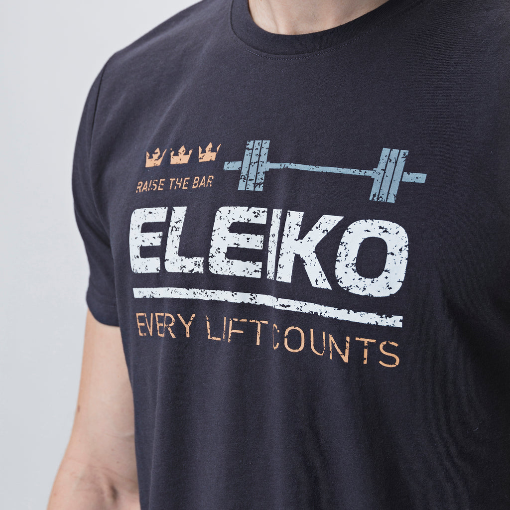 Eleiko Sign T-Shirt B <br>Strong Grey