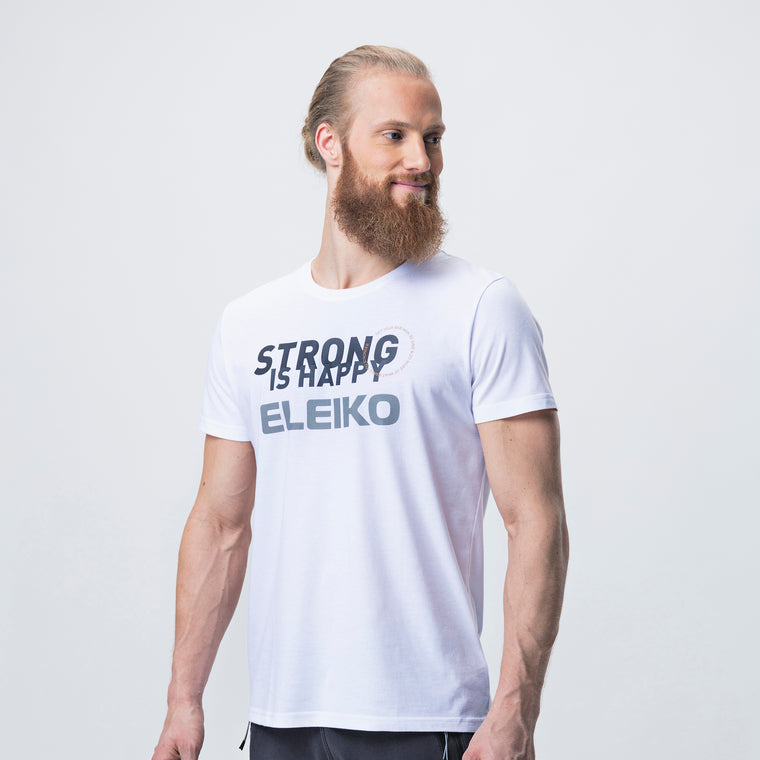 Eleiko Sign T-Shirt F <br>White